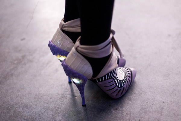 Picture of Rodarte-Style Light Up Shoes