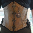 How to make a steampunk corset busk