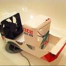 DIY fan powered boat