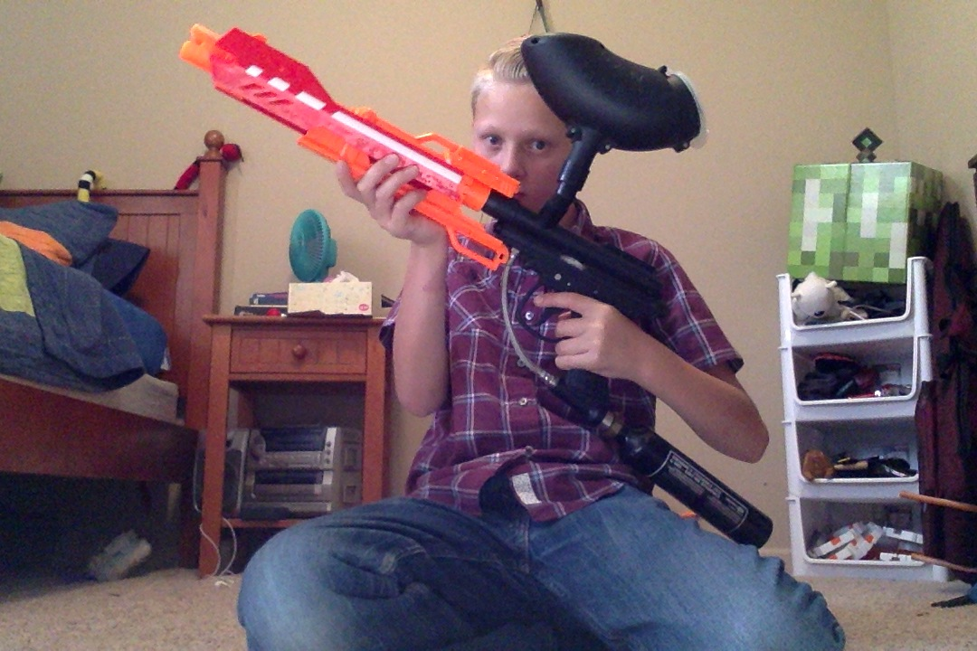 Picture of How to Nerf Mod Your Paintball Gun
