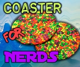 Make a Nerds Coaster