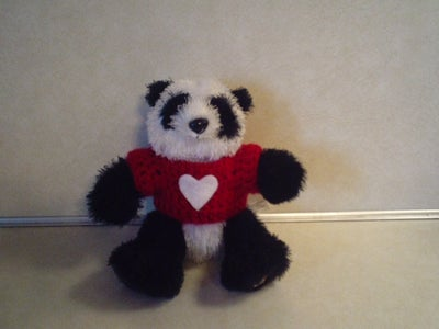 Sweet Teddy Bear Tee to Crochet for Valentine's Day