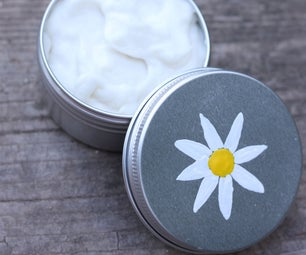 Daisy-chamomile moisturizing cream