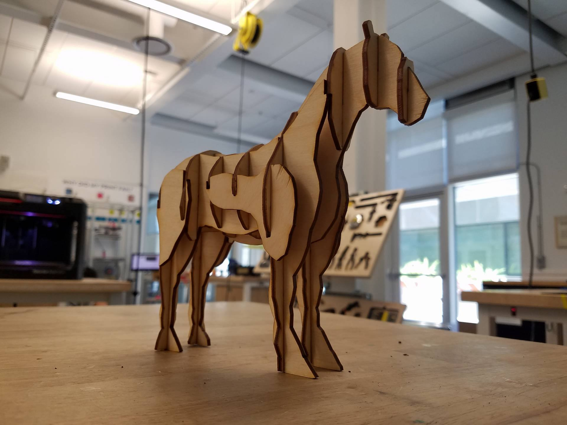 Picture of Laser Cut Horse