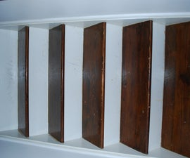 Refinishing an Hardwood Staircase