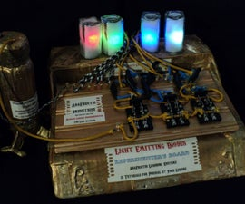 Steampunk Electronics LED Experimenter's Board