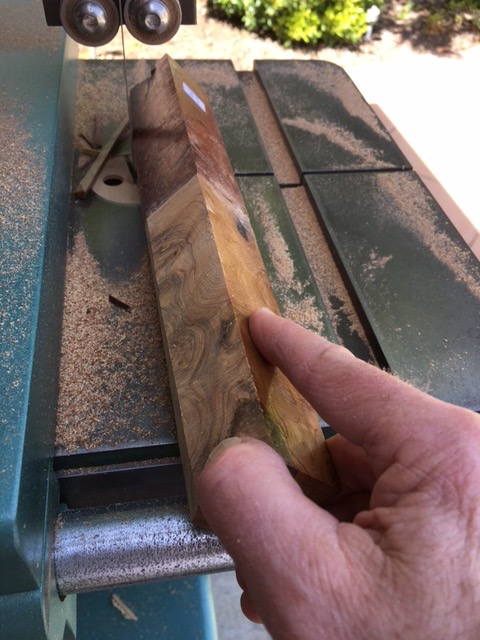 Picture of Trimming the Glued Wood