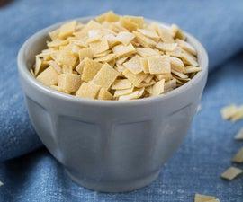 Lascute (Homemade Square Pasta)
