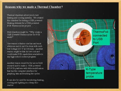 Why Make a Thermal Chamber?