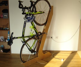 Bike Rack of Wood