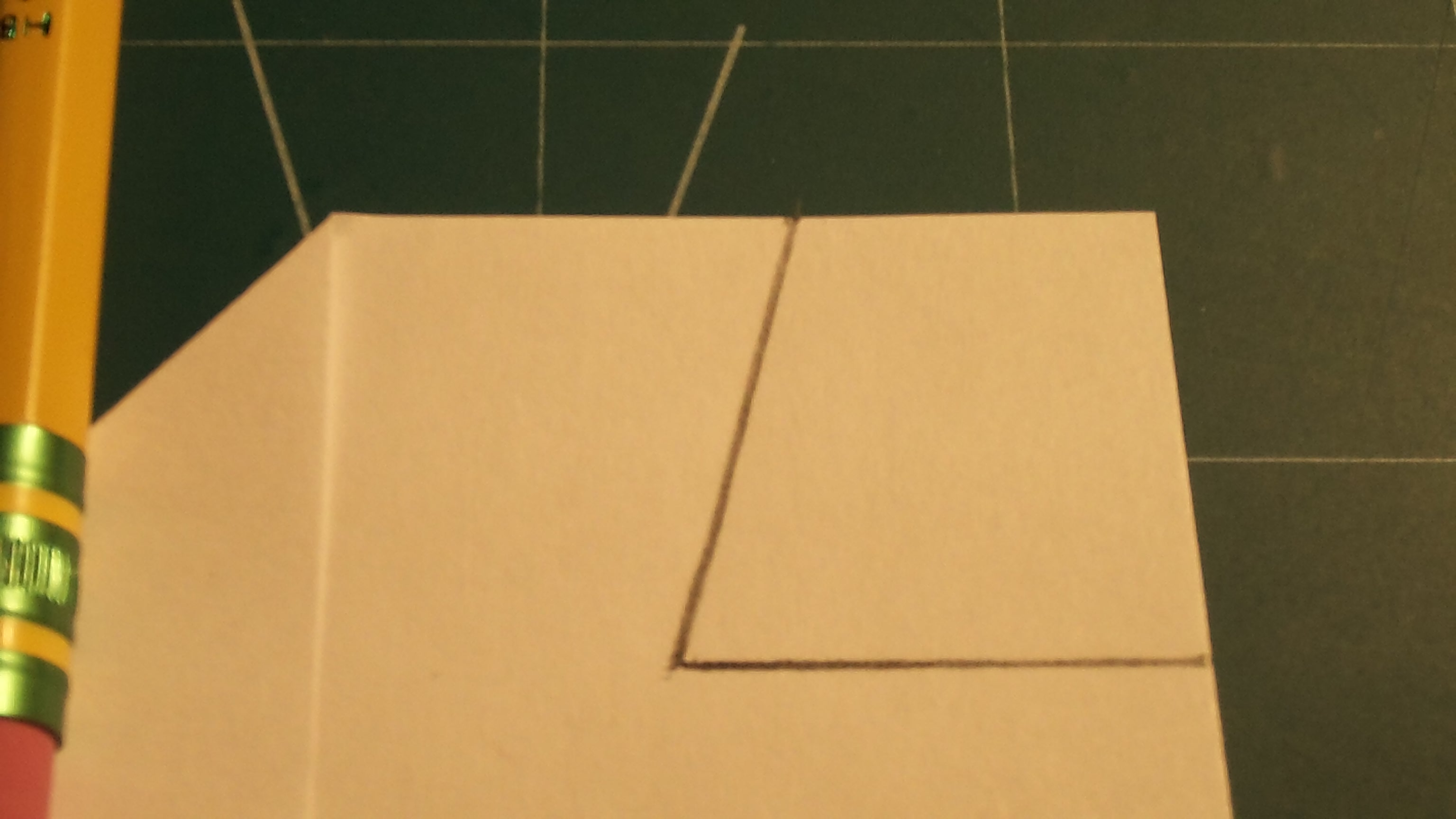Picture of Airfoil and Canard Folding; Making the Fins