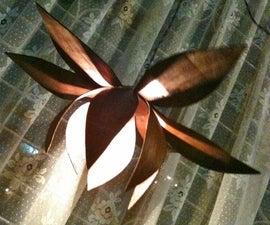 Lotus Pendant Lamp- Bent wood