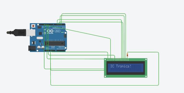 Attach LCD Display on Arduino Leonardo Board