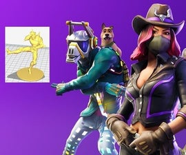 How to Print Almost Everything From FORTNITE (with Only Freeware ... and No Particular Skills)