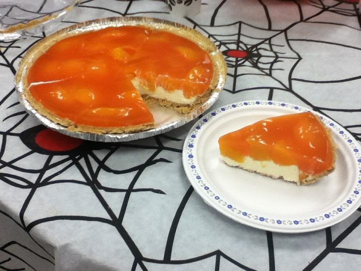 Picture of Peaches and Cream Pie