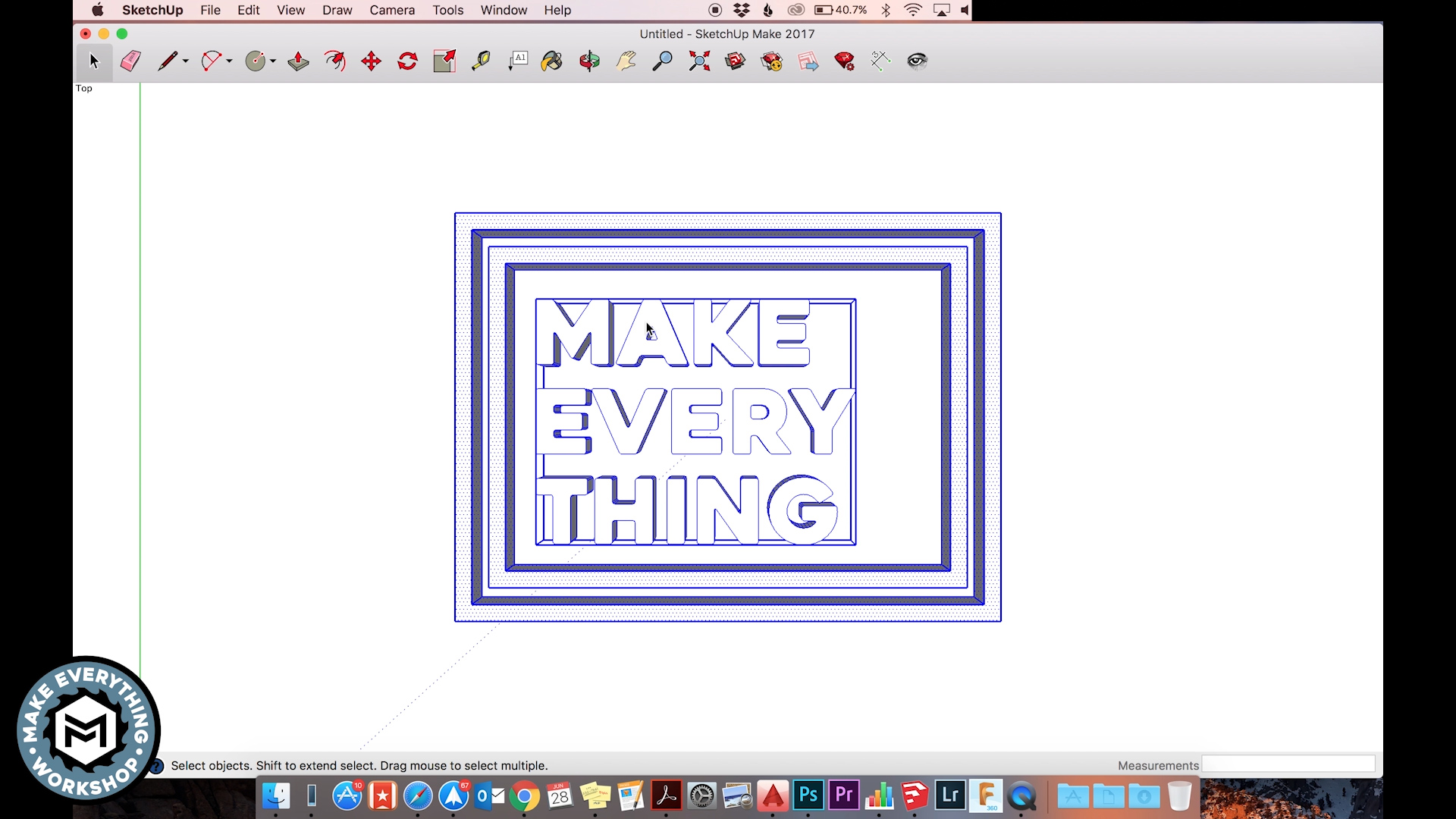 Picture of 2. Flip the Design to Make the Stamp
