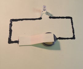 Fun circuits with conductive paint