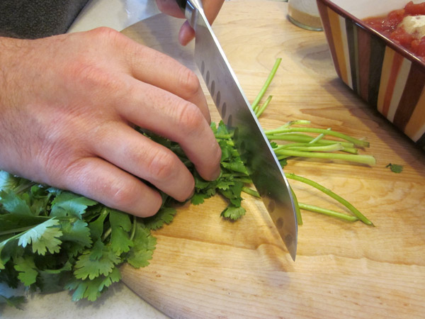 Picture of Chop Your Cilantro: Step 1
