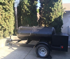 Awesome Trailer Mounted Smoker