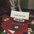 Custom Scratch Card