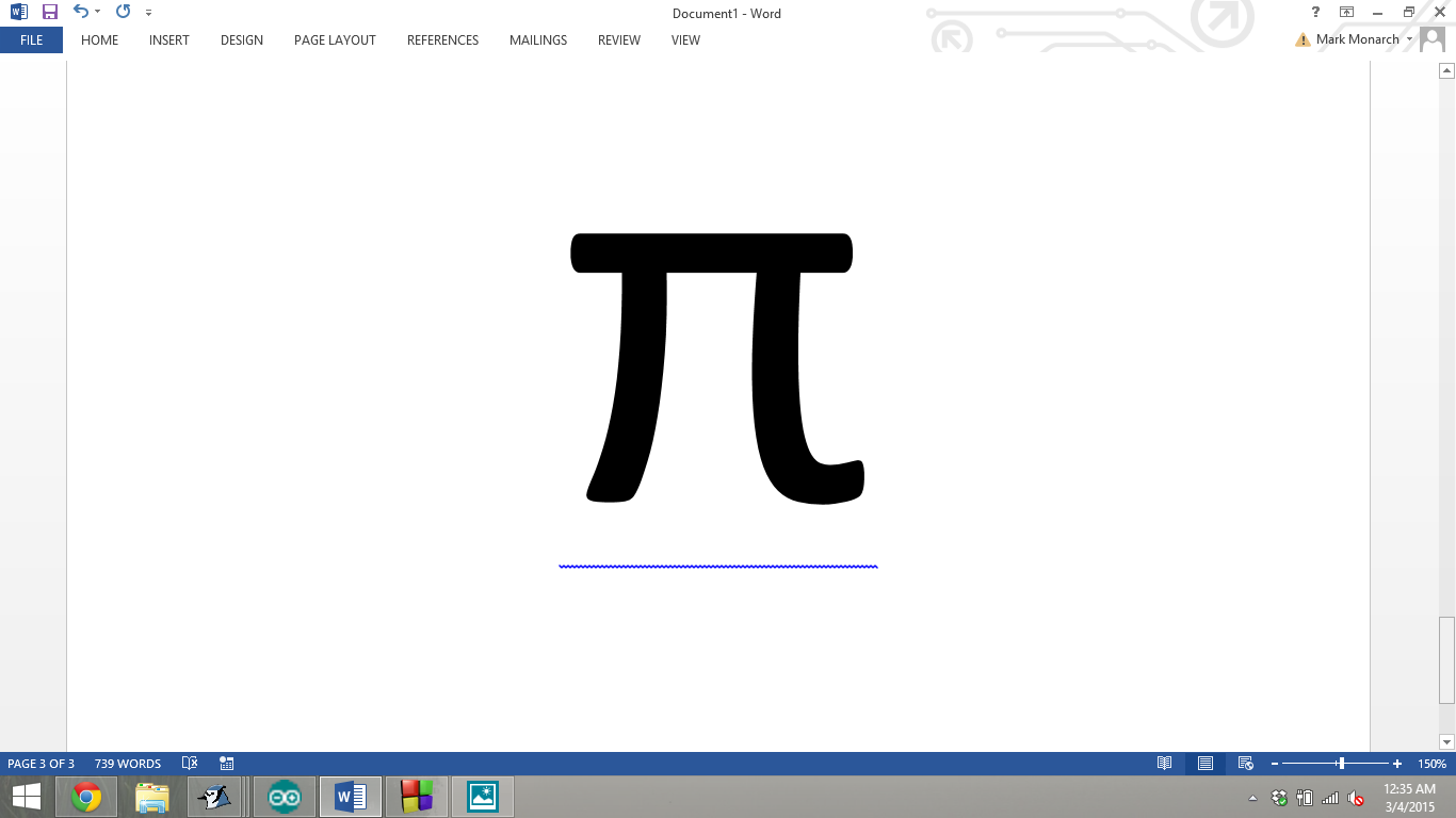 Picture of Estimating Pi Using Programming
