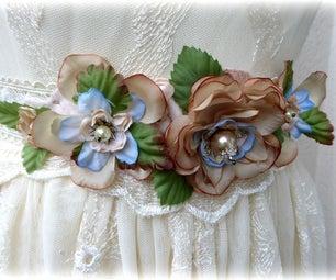 Wedding Flower Belt/tiara