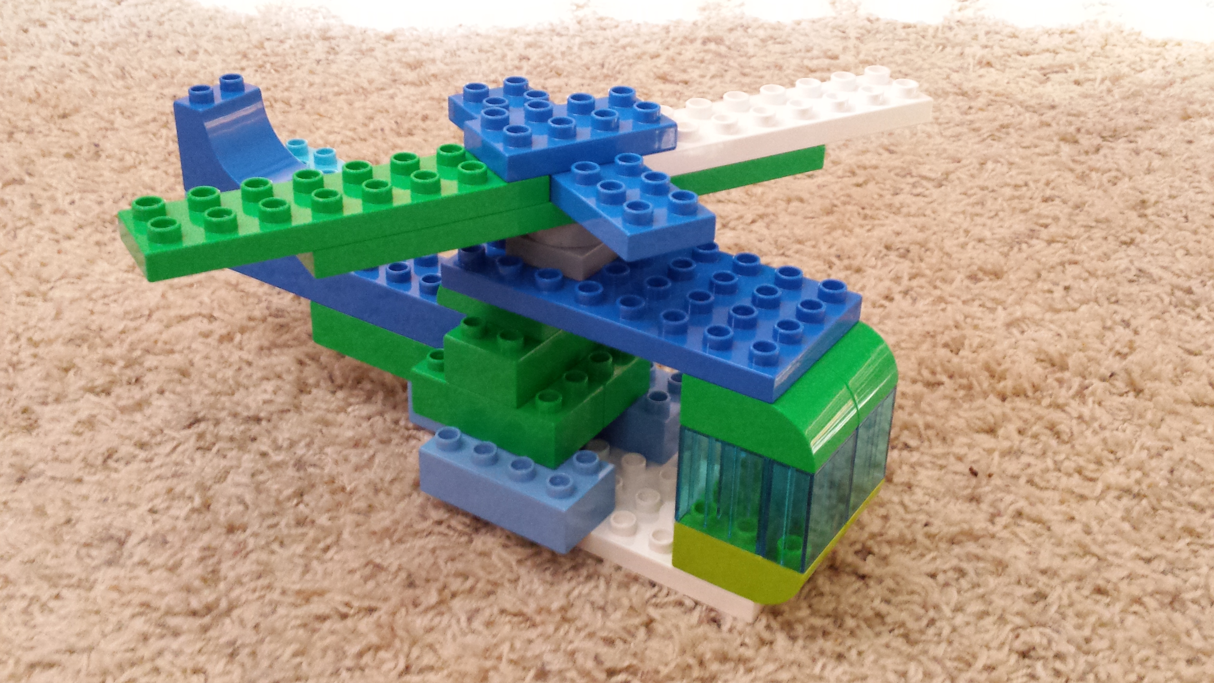 Picture of Lego Duplo Helicopter