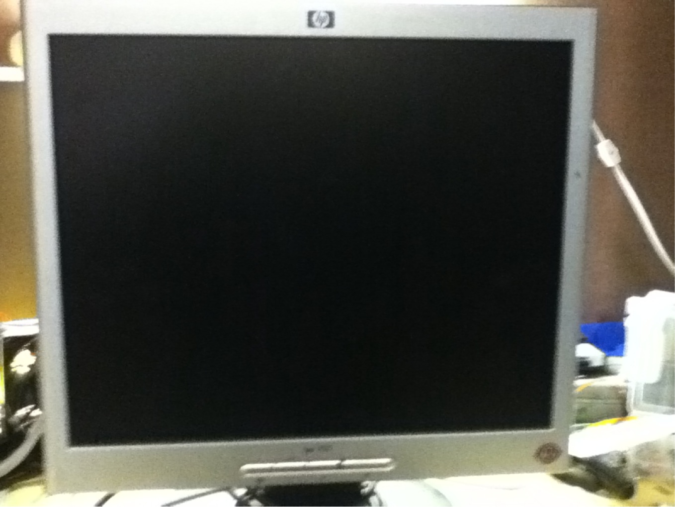 Picture of Working on the Monitor
