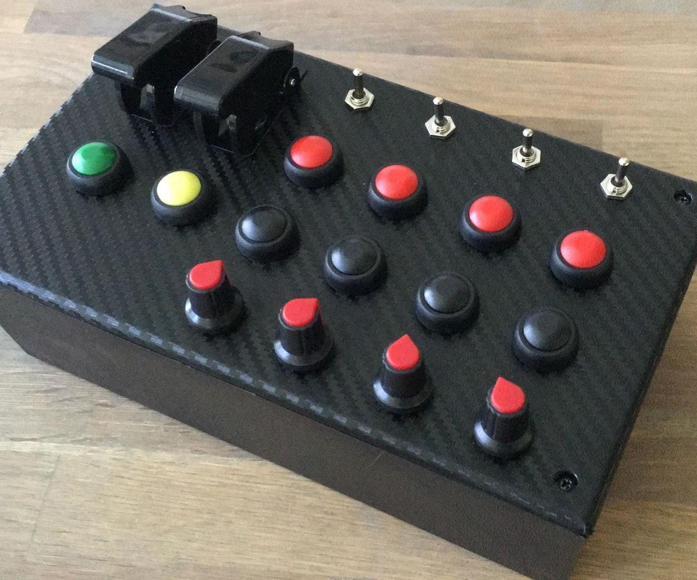 Sim Racing Button Box: 8 Steps