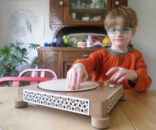 Finger Powered Record Player