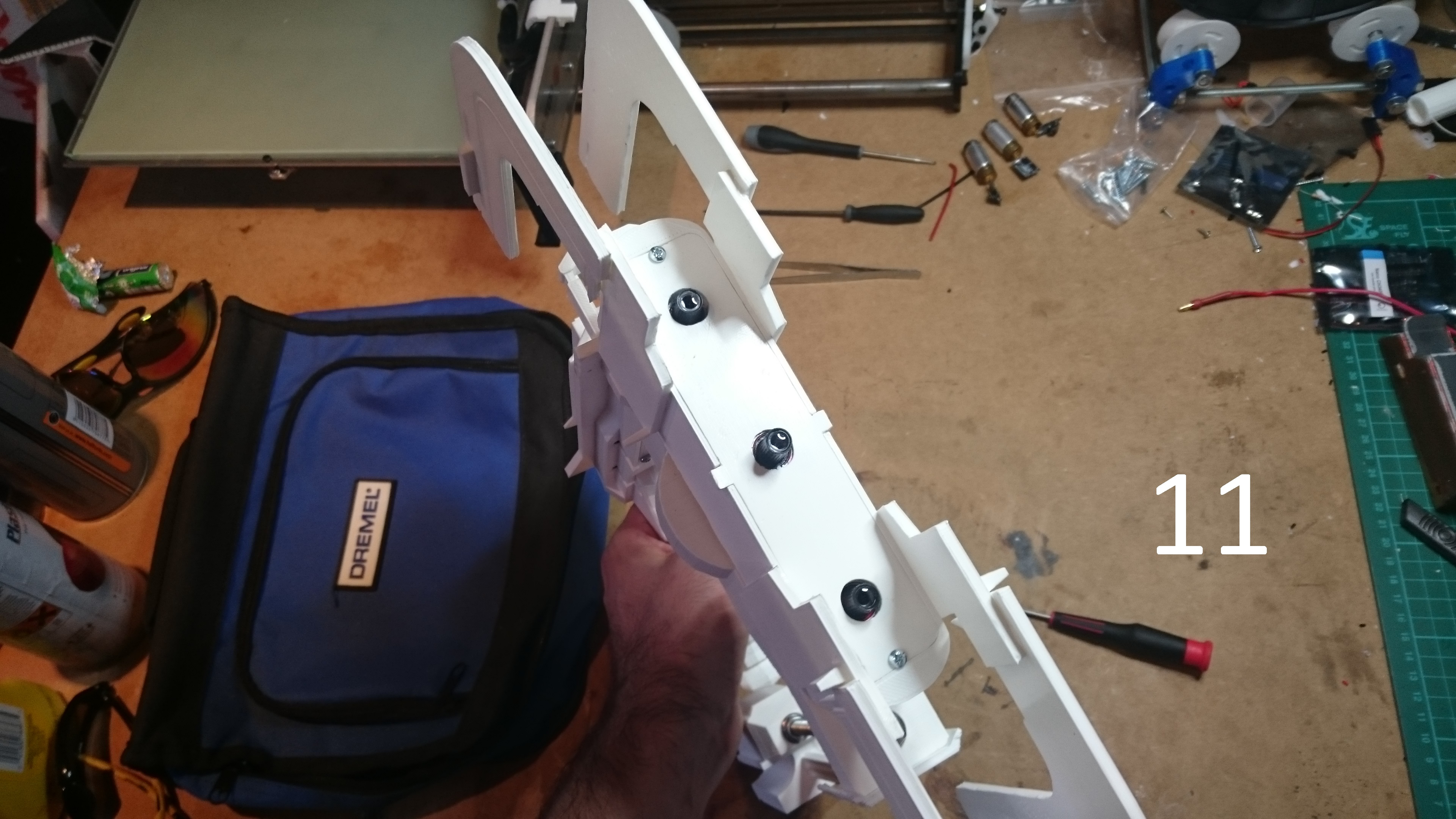 Picture of Assembly: Laser Front Plate