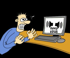 How to make a beep virus...