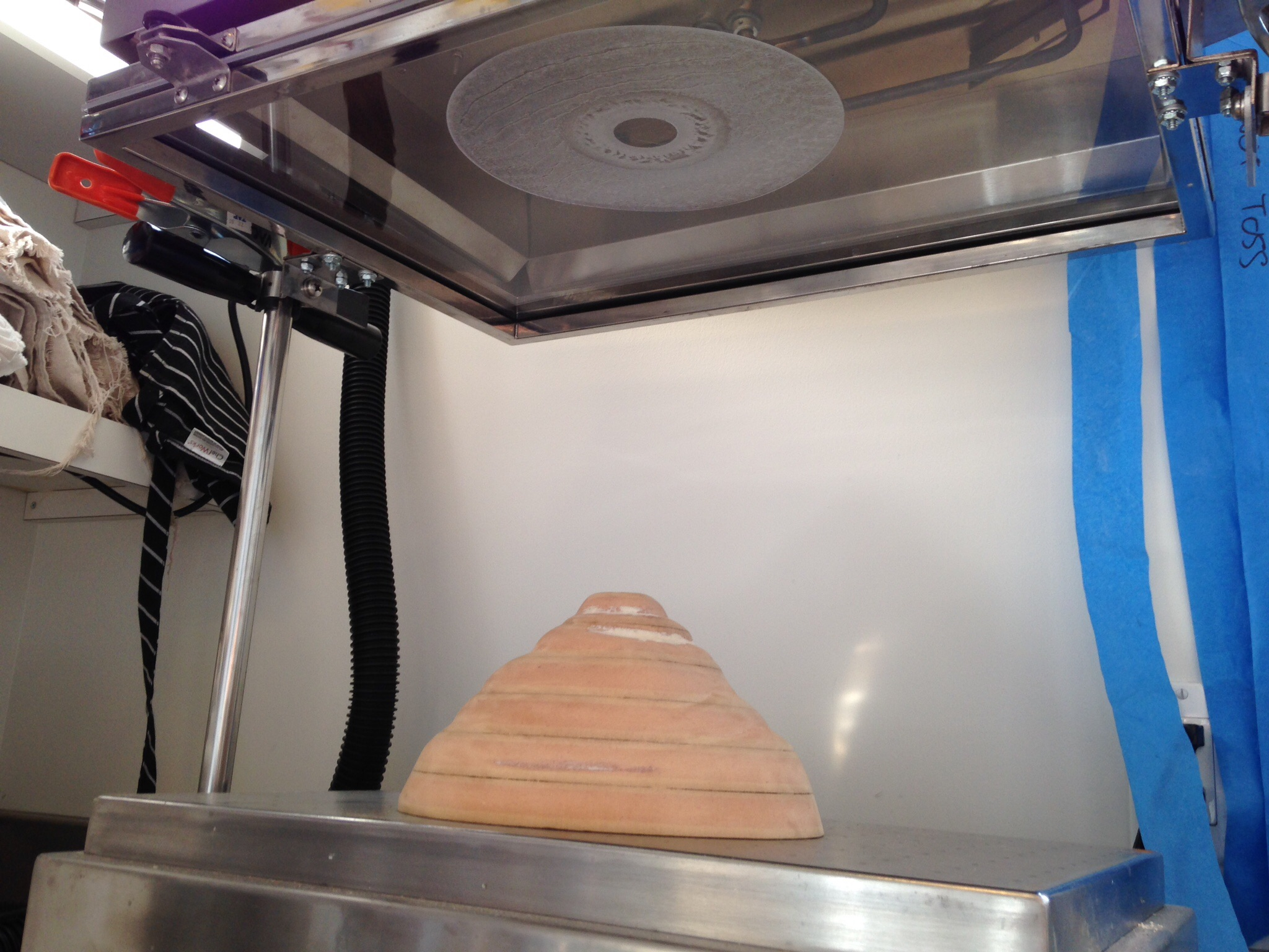 Picture of Test Run and Final Forming