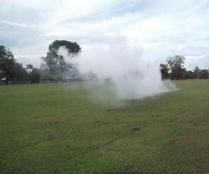 Instant Burning Smoke Screen