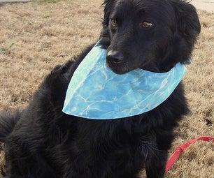 Reversible Dog Bandana