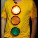 LED Traffic Light Halloween Costume