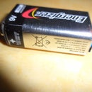 Li-Ion Battery Pack to replace 9V Battery for DMM