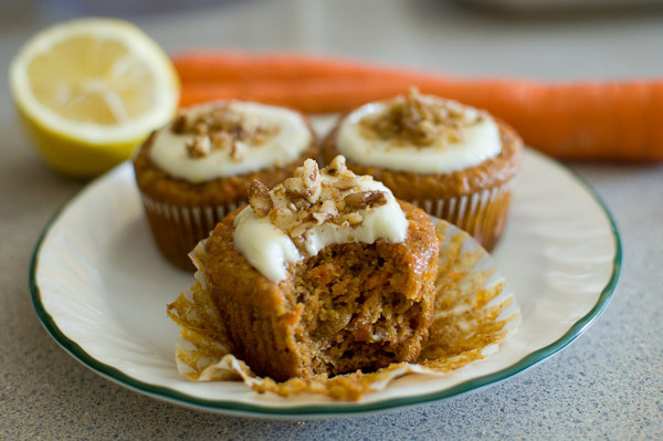 Picture of Carrot Cupcakes With Lemon Cream Cheese Frosting