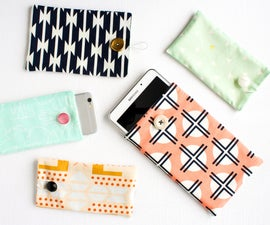 How to Hand Sew a Gadget Case
