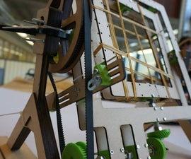 Prototype 03 - Rotational Casting - Lasercut 3Dprinting