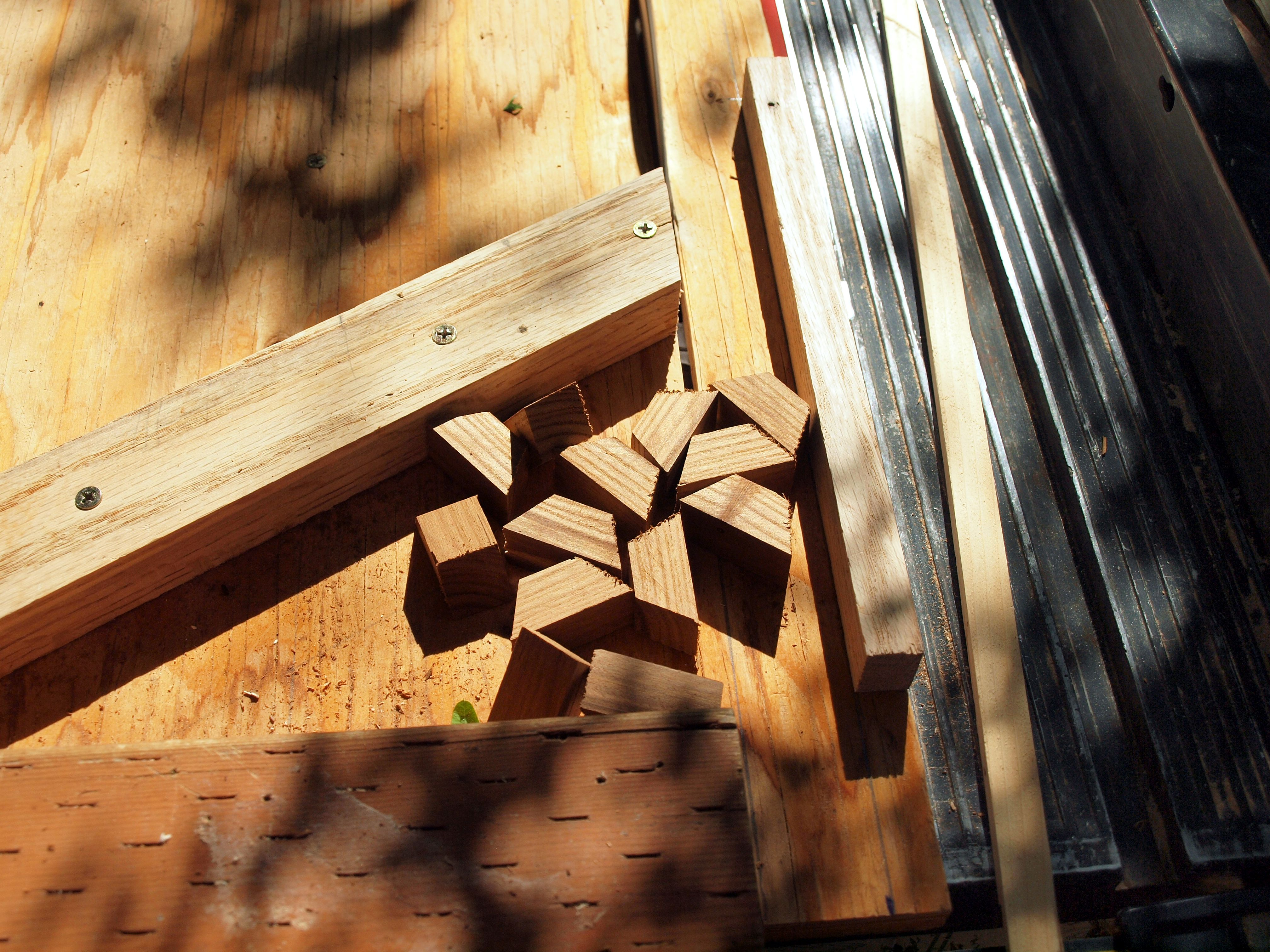 Picture of Making Smaller Sticks and Trapezoids.