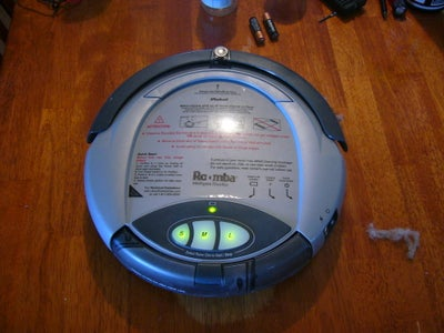 Cleaning a 1st or 2nd Generation Roomba