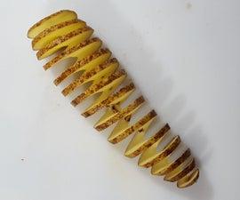 Accordion Style Twice Baked Potato Appetizer