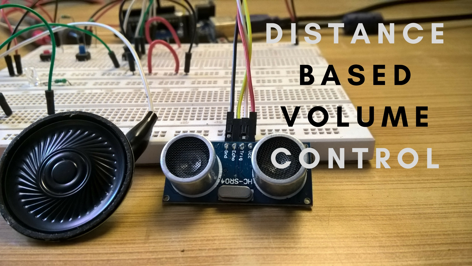 Picture of Automatic Distance Based Volume Control