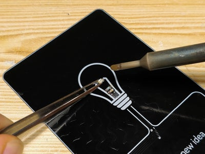 Soldering the Passive Components