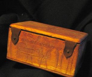 Balsa Box for Two Card Decks