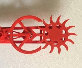 3D-Printed Clock Escapement