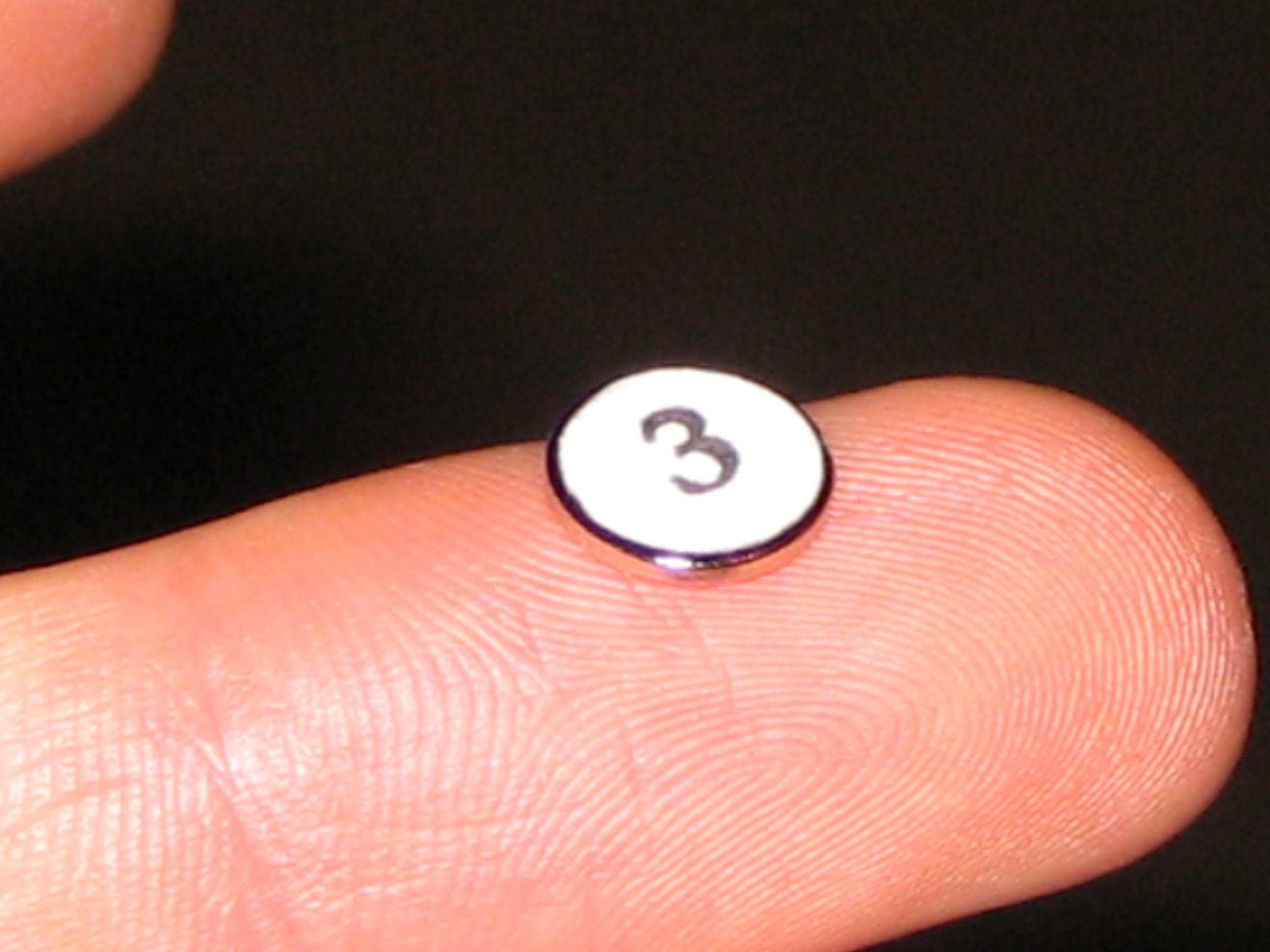 Picture of Adding the Numbered Magnets