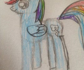 How To Draw A My Little Pony