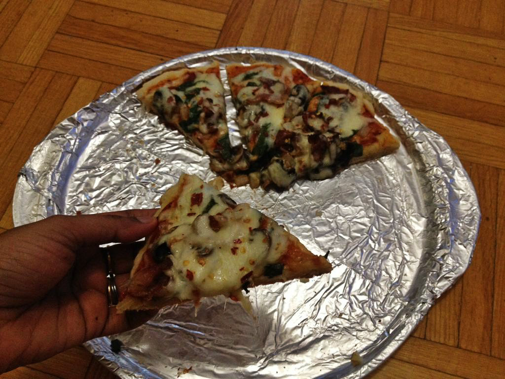 Picture of Stove Top Pizza |  No Oven Pizza